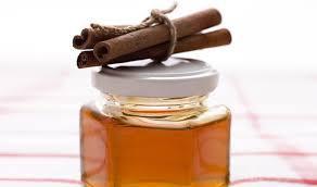 Honey cinnamom paste